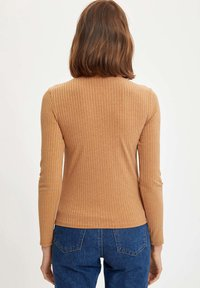 DeFacto - Long sleeved top - brown - 2