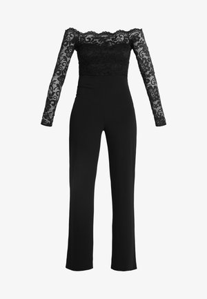OFF SHOULDER - Jumpsuit - black