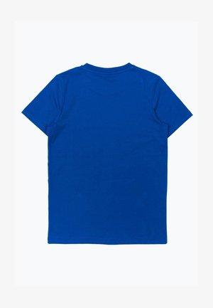 GRAFFITI - Print T-shirt - blue/white