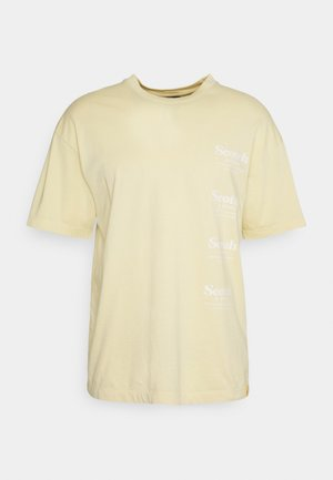 RELAXED ARTWORK - Print T-shirt - flax
