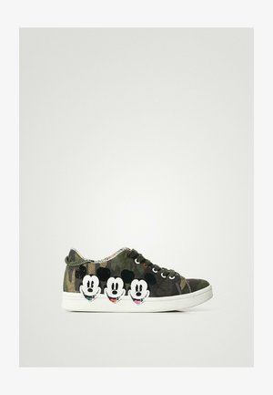Trainers - olive green