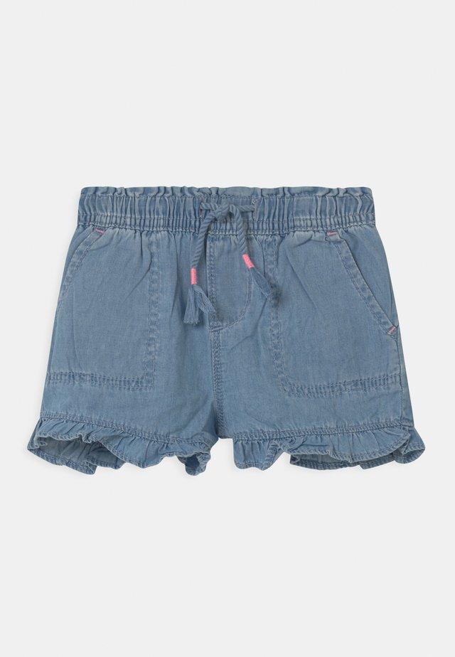 TODDLER GIRL - Shorts di jeans - light wash indigo