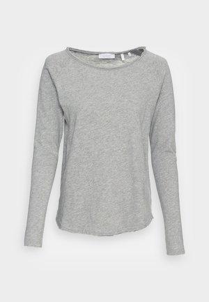 ORGANIC HEAVY LONGSLEEVE - Long sleeved top - cloudy grey