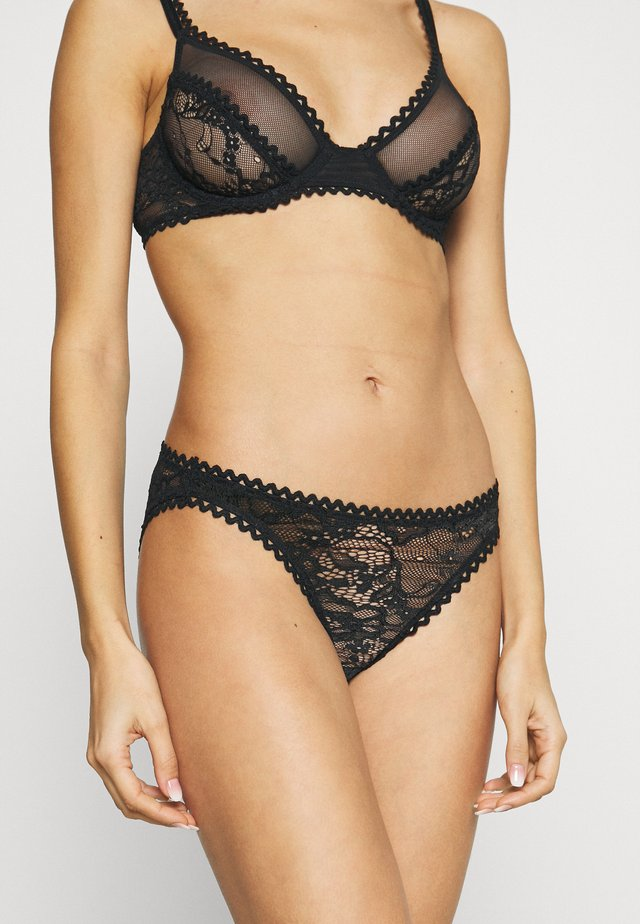 KIKI BRIEF - Slip - black