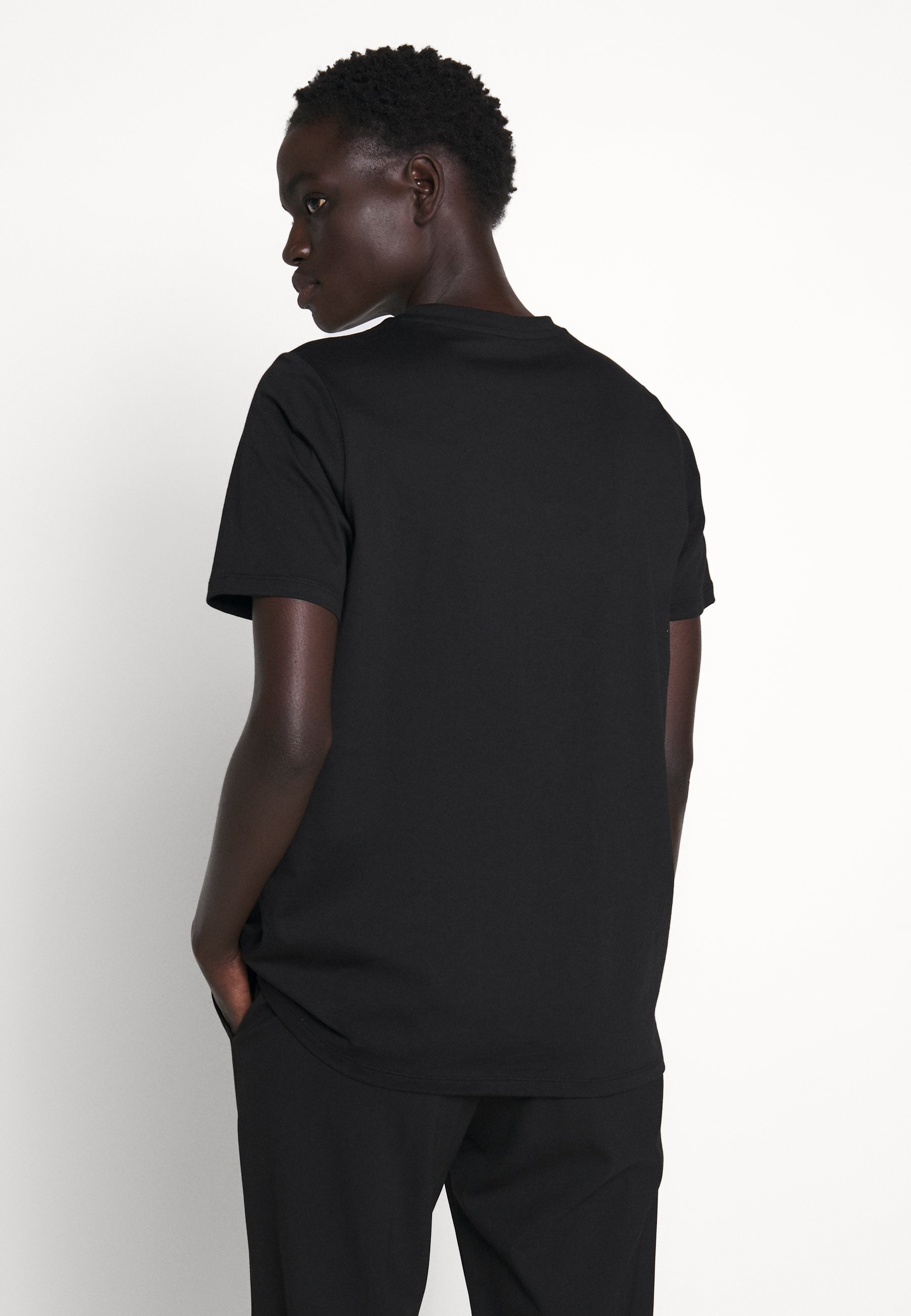 Michael Kors T-shirts Med Print - Black/silver/svart