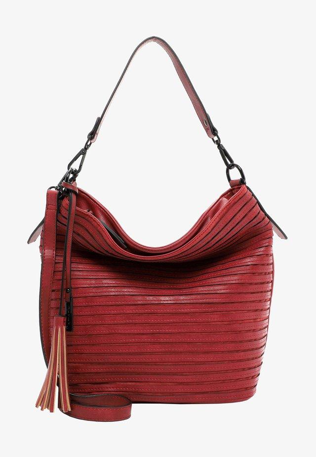 BARBARA - Bolso shopping - red