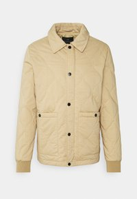 Scotch & Soda - CLASSIC QUILTED JACKET - Light jacket - sand - 0