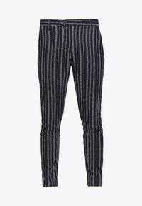Gianni Lupo - PANTS - Oblekové kalhoty - blue - 4