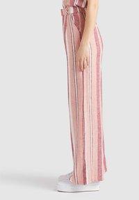 khujo - MAHSALA - Trousers - pink - 3