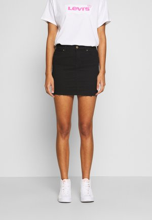 ONLCARMEN MINI SKIRT  - Mini skirt - black