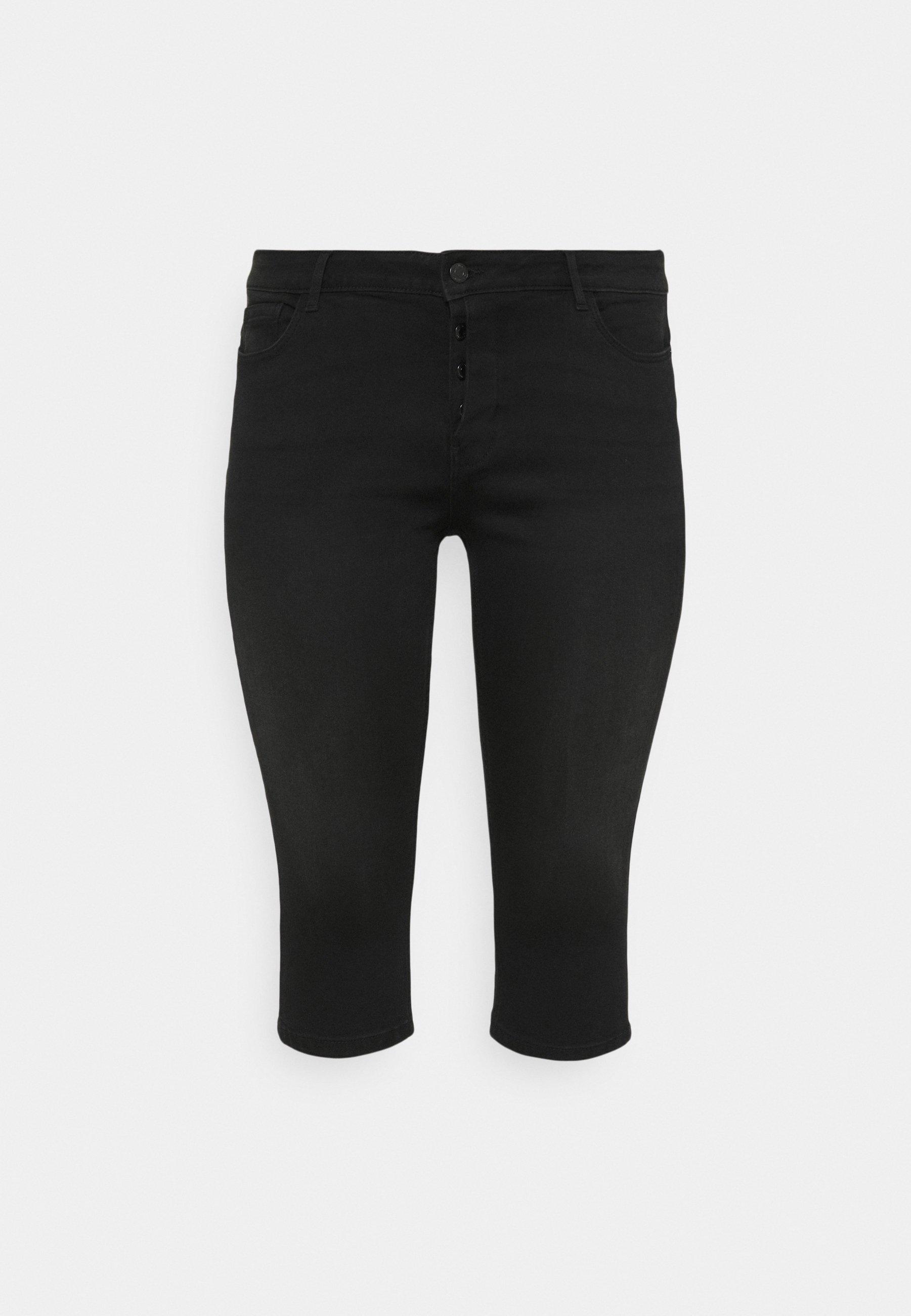 Women VMSEVEN FLY KNICKERS - Denim shorts