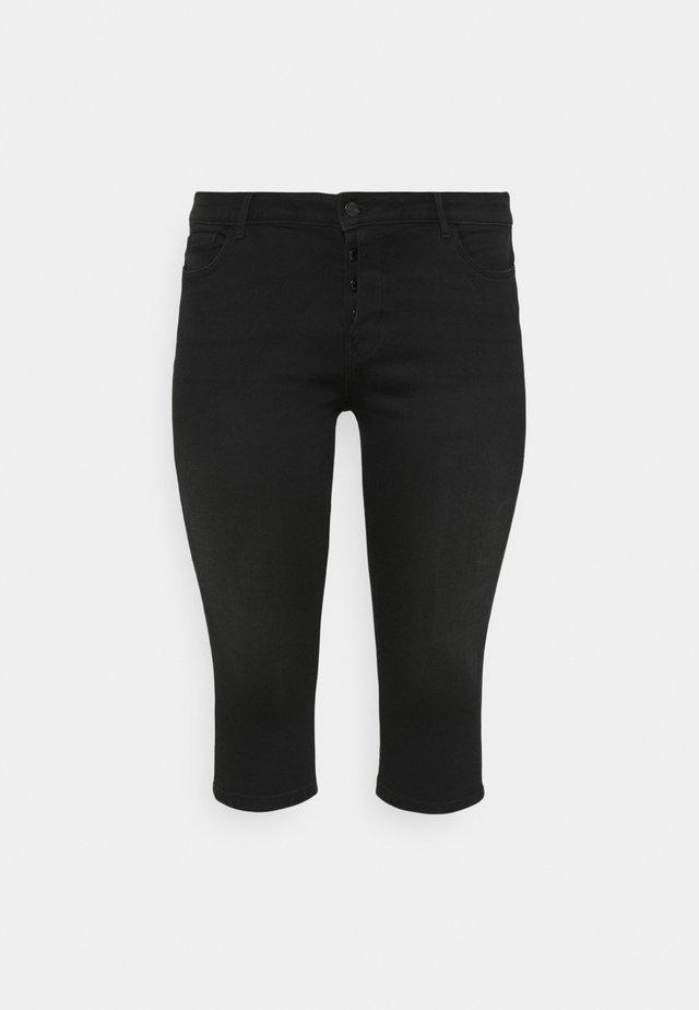 VMSEVEN FLY KNICKERS - Denim shorts - black