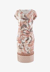 Alba Moda - Jersey dress - rosé,braun - 4