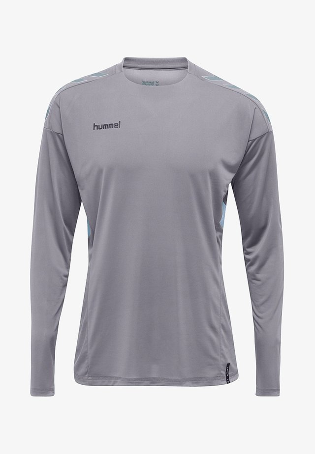 TECH MOVE - Long sleeved top - grey melange
