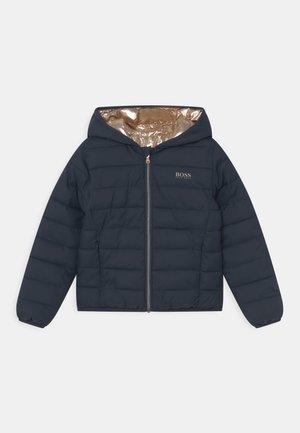 REVERSIBLE PUFFER - Winter jacket - navy