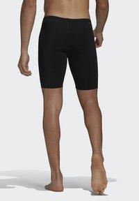adidas Performance - PRO SOLID JAM POOL PRIMEGREEN SWIM SPORTS COMPRESSION JAMMER - Swimming trunks - black - 1