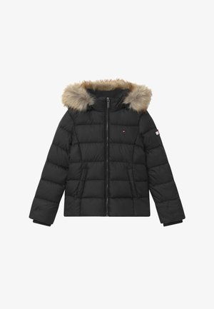 ESSENTIAL BASIC JACKET - Bunda z prachového peří - black