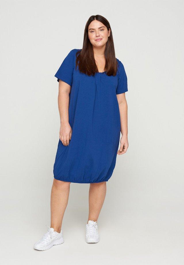 Sukienka letnia - twilight blue