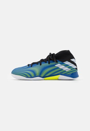 NEMEZIZ .3 IN - Indoor football boots - royal blue/footwear white/solar yellow