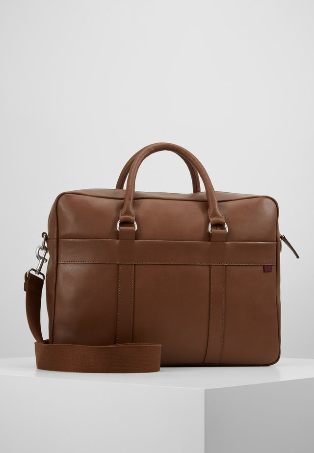 LEATHER - Briefcase - brown