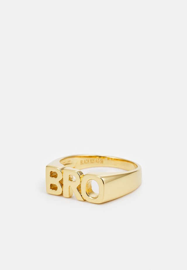 BRO - Ringe - gold-coloured