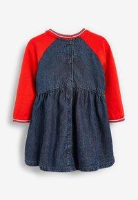 Next - RAGLAN - Denim dress - coloured denim - 1