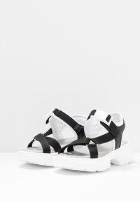 Esprit - HUNKY  - Platform sandals - black - 4