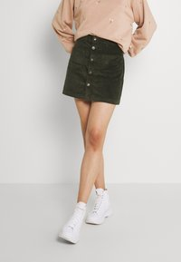 ONLY - ONLAMAZING LIFE SKIRT - A-line skirt - forest night - 2