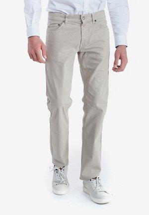 Straight leg jeans - avorio