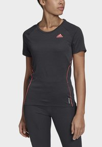adidas Performance - ADI RUNNER PRIMEGREEN RUNNING - T-shirt print - Black - 2