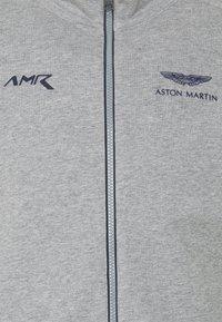 Hackett Aston Martin Racing - TRACK - Mikina na zip - grey marl - 6
