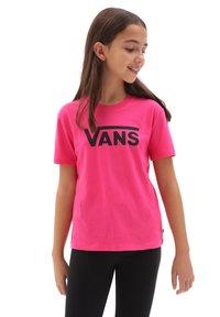 Vans - GR FLYING V CREW  - T-shirt print - orchid - 1