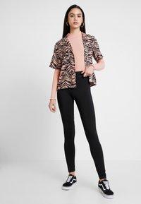 New Look - LETTUCE EDGE - Langærmede T-shirts - pink - 1
