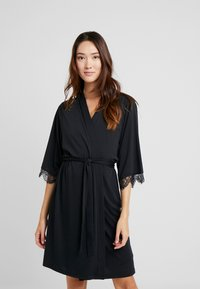 LASCANA - Dressing gown - black - 0