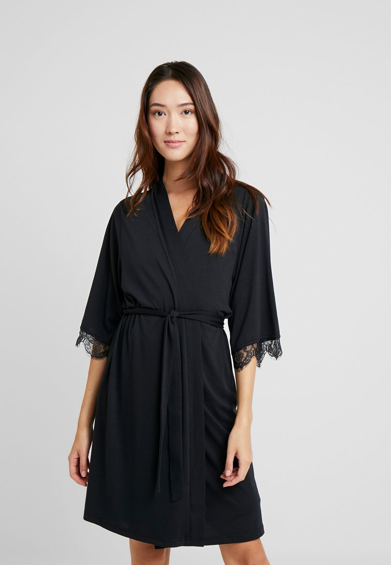 LASCANA - Dressing gown - black