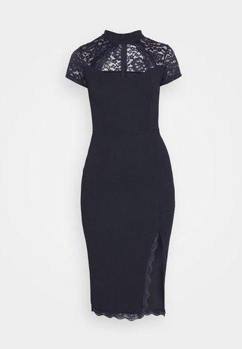 LATIFA DETAIL MIDI DRESS - Cocktail dress / Party dress - navy blue