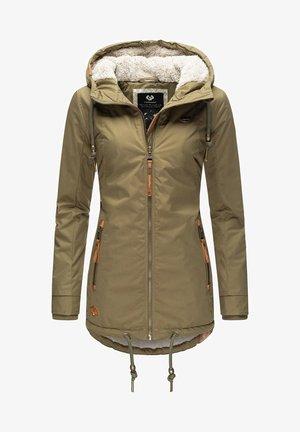 ZUZKA - Winter coat - olive