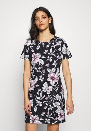 ONLPOPTRASH PRINT DRESS - Žerzejové šaty - night sky