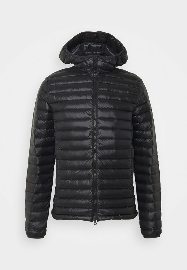 BRUCE HOODED - Piumino - black