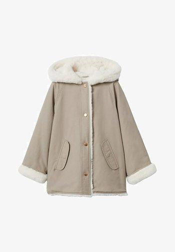 Winter coat - mittelbraun