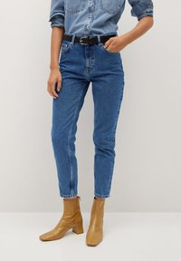 Mango - MOM80 - Jean slim - dark blue - 0