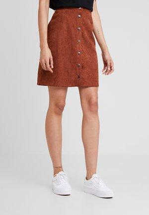 Minijupe - brown patina