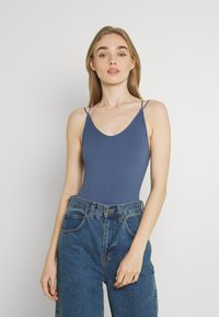 BDG Urban Outfitters - STRAPPY BUNGEE BODY THONG STRAP - Top - navy - 2
