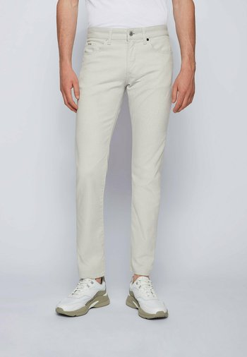 DELAWARE - Slim fit jeans - open grey