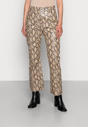 JAMAL TROUSERS - Trousers - brown