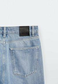 Massimo Dutti - Straight leg jeans - dark blue - 3