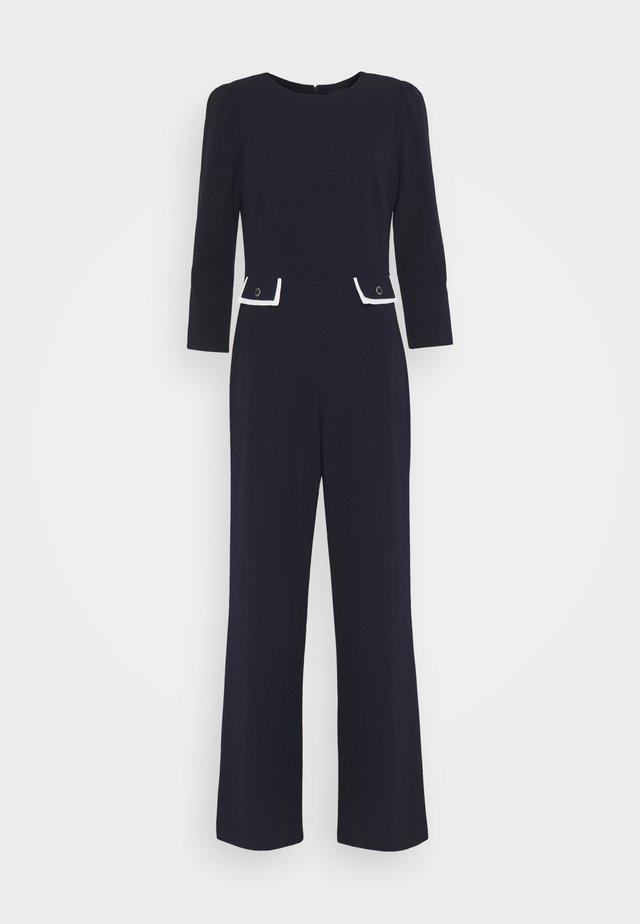 Jumpsuit - midnight/ivory