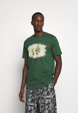 NFL GREEN BAY PACKERS TEAM LOGO TEE - Club wear - green