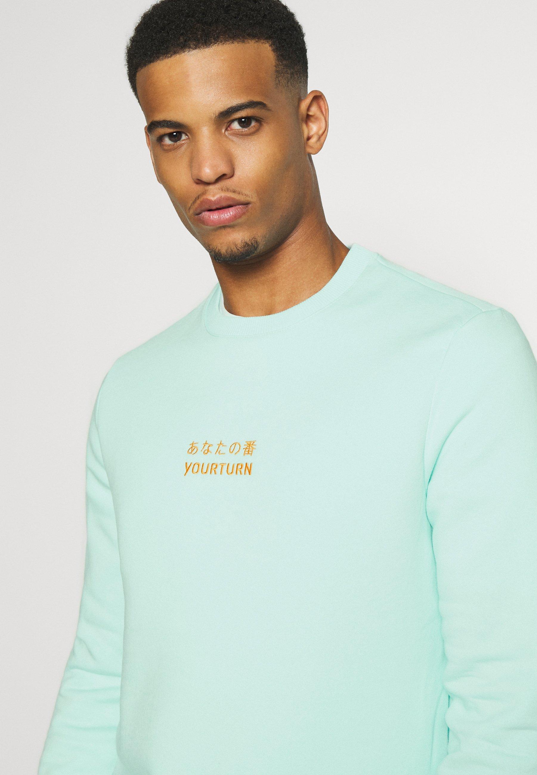 YOURTURN Sweatshirt - mint OQkGR
