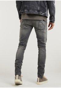 CHASIN' - Slim fit jeans - grey - 1